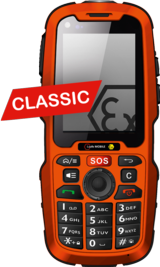 IS-320.1 Mobiltelefon CLASSIC ATEX Zone 1/21