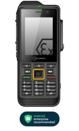 IS-330.2 Mobiltelefon ATEX Zone 2/22